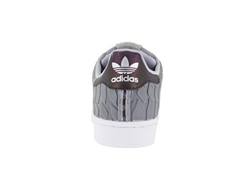 Adidas Originali Mens Superstar Scarpe Lt Onix Supcol Ftwwht Onypal Supcol Ftwbla