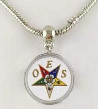 Art Art shop Necklace OES Order of Eastern Star Dangle Charm