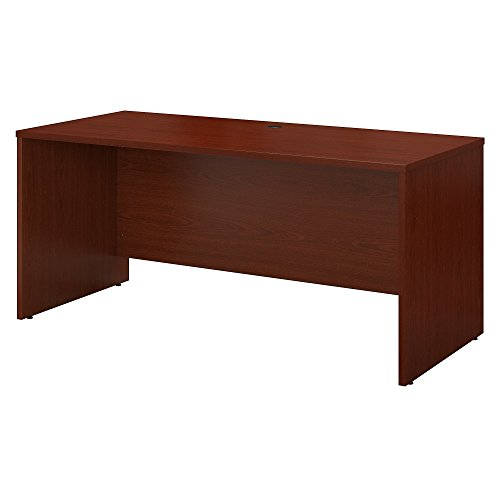 Bush Business Furniture Series C 60W x 24D Credenza Desk in Mahogany
