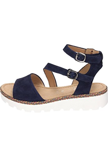 Gabor 860 Womens G 82 bluette Sandals Fl multi 4RPqFx4w8