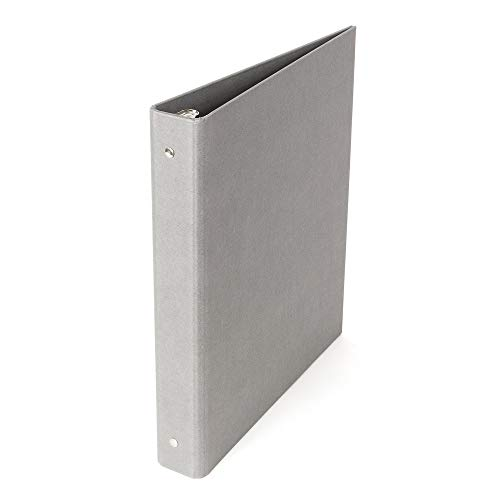 Bigso Ringo 3-Ring Binder, 1-Inch, Gray