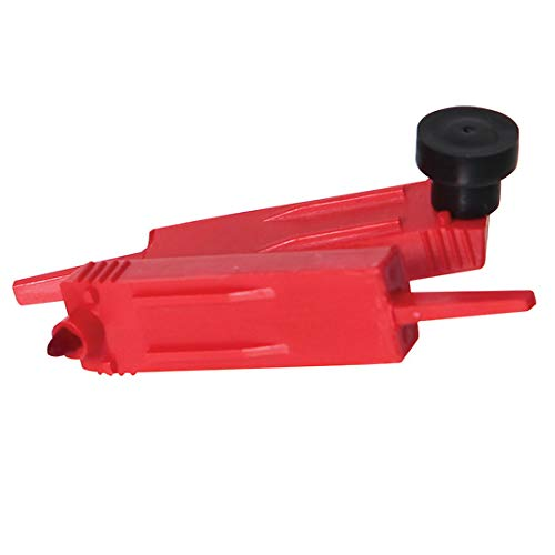 Graphic Controls 32014634 60500403 Red, Pen, Short, 5//Pack of 5