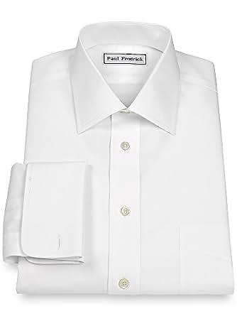 Paul fredrick men 39 s non iron 2 ply 100 cotton windsor for 2 ply cotton dress shirt