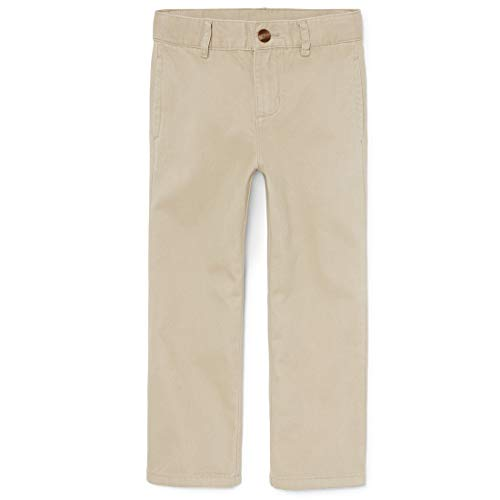 The Children's Place Little Boys' Chino Pant, Sandwash, 7 -