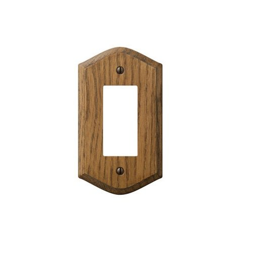 Amerelle 701R Wallplate Country Oak Wood