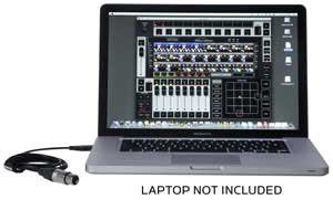 Elation Lighting EMULATION Pro DMX Software w/USB DMX Cable