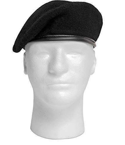 Rothco G.I. Style Beret, Black, 6 3/4