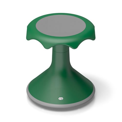 Hokki Stool - 15'' Green