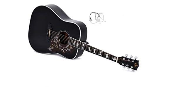 Guitarra Acústica/Electroacústica Sigma DM SG5 BK+ limited Edition ...