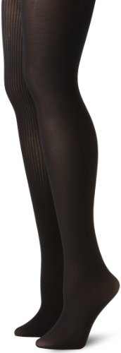 noir Anne Klein grand Côtes De Women's Noir Pack Serré 2 Paire Moyen 7Tqw7HSz