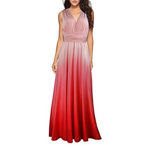 Party Dress,Caopixx Bridal Jewel Neck Bridesmaids Dresses Retro Chiffon Evening Gowns Cocktail Dresses ()