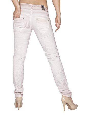 Blue Mujer Rosè Monkey Vaqueros Jeans Ajustada Básico Para rAgrTBqw
