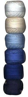 (Perle Cotton Size 8 Thread Sampler Pack Sashiko Basic)