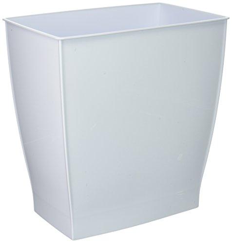 Rectangular Wastebasket Container Bathrooms Kitchens