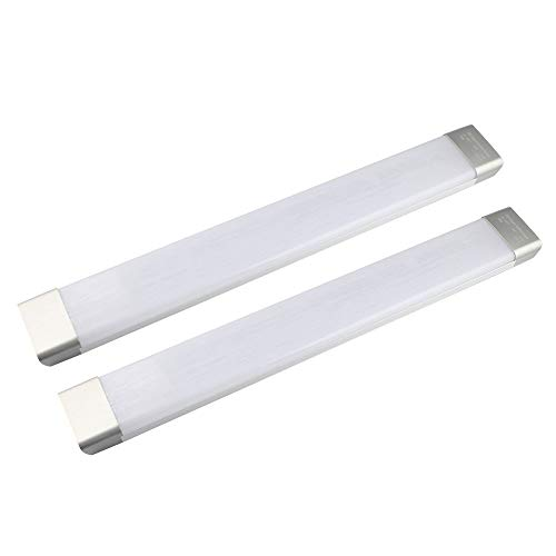GALYGG 2ft LED Tube Light, 26W 2300LM 6500K (Daylight White) Fluorescent Tubes Replacement, Lighting Fixtures for Garage Closet - 2 Pack