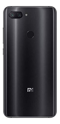 "Xiaomi Mi 8 Lite (64GB, 4GB RAM) 6.26"" Full Screen Display, Snapdragon 660, Dual AI Camera's, Factory Unlocked Phone - International Global 4G LTE Version (Black)"