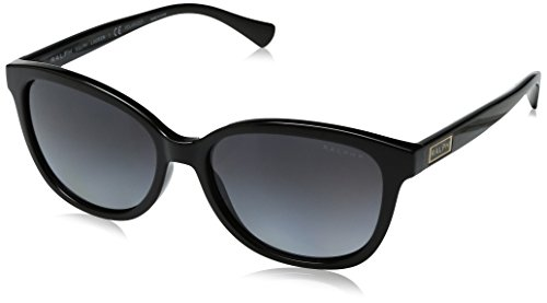 Ralph Lauren Sunglasses Women's 0ra5222 Polarized Square, Black, 56 - Sunglasses Lauren