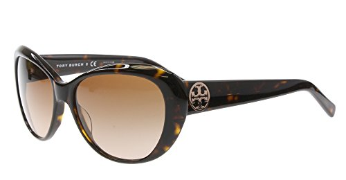 Tory Burch Ty7005 Women's Cateye Havana Brown Sunglasses 5108