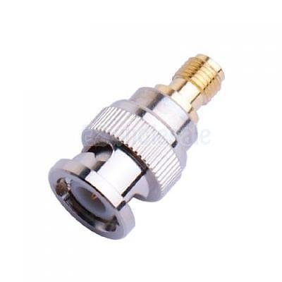 Coaxial BNC Female to SMA Male Plug Coax Connector Adapter by e2wholesale