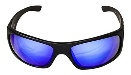 Ocean Waves Sunglasses Pablo Beach Ocean Waves Pablo Beach Sunglasses with Offshore Blue Lenses), Black, Offshore - Waves Ocean Glasses Sun