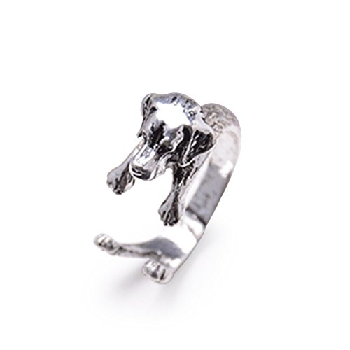 clothingloves-sterling-ring-wrap-dog-fashion-ring-adjustable-made-silver-and-gold-plated-silver