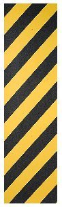 Envy Scooters Flik Grip Tape (Caution) YELLOW/BLACK STRIPES 4.5'' Wide