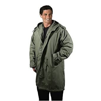 Amazon.com  ROTHCO M-51 FISHTAIL PARKA   OLIVE DRAB - Size  2XL  Military  Coats And Jackets  Clothing fabb4a4b937