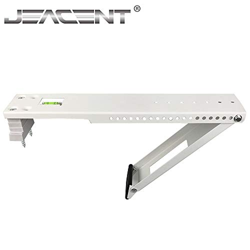 Jeacent Universal AC Window Air Conditioner Support Bracket Heavy Duty, Up to 165 lbs (Best Casement Window Air Conditioner)