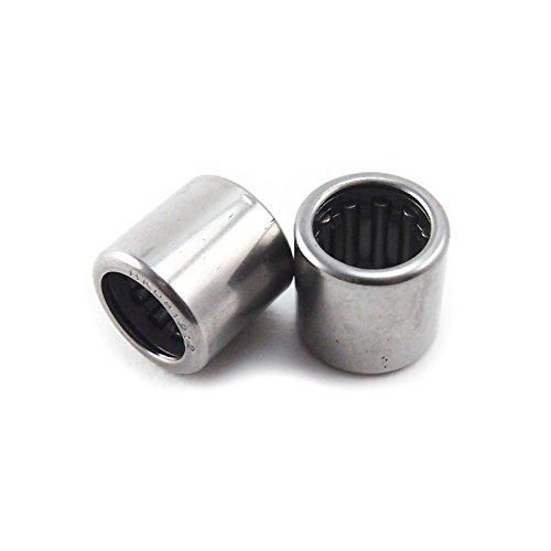 Generic HK081212 HK0812 8x12x12mm Metal Needle Roller Bearing (Pack of 10) AceTimes hk081212_10pcs