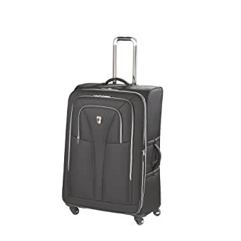 Atlantic Luggage Compass Unite 29 Inches Expandable Upright Spinner Suiter, Black, One Size