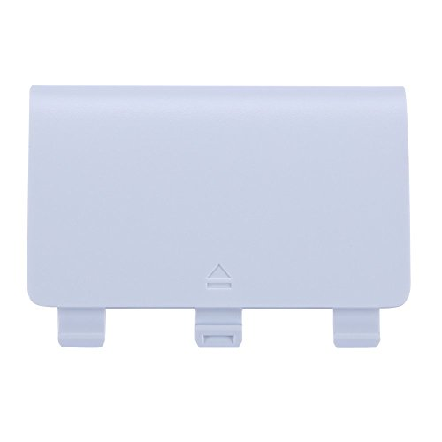 Battery Cover Door Shell Repair Part Replacement for Xbox One/Ones Wireless Controller (White)