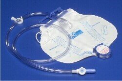 CURITY Bedside Drain Bag - 2000ml - w/out Anti-Reflux Device - (Kendall Curity Drain)