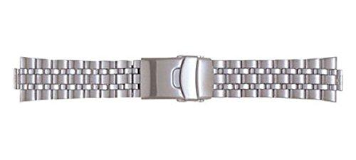 a9d429b07a Amazon   BSB1126-S バンビメタル 時計バンド 22-10mm   時計バンド   腕時計 通販