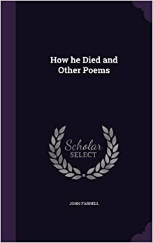 Book How he Died and Other Poems