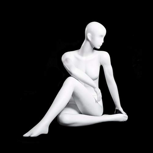 (MC-YOGA09) ROXYDISPLAY™ High end Quality. Female Yoga Position of Sitting, Full Body, Abstract Head, NO Base by ROXYDISPLAY™ (Image #4)