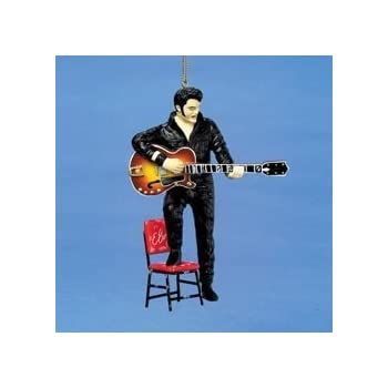 Elvis Presley Christmas Ornament Elvis with Chair