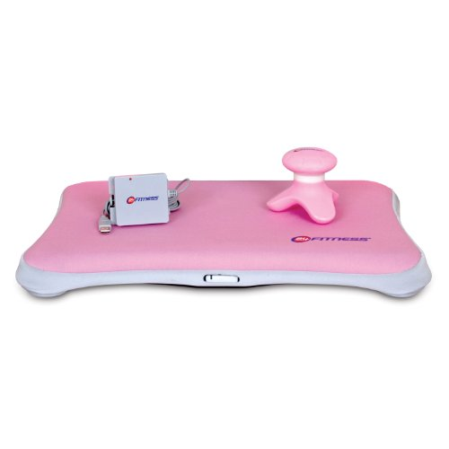 Dreamgear Neo Fit Sleeve - dreamGEAR Nintendo Wii 3-in-1 24 Hour Fitness Kit (pink)