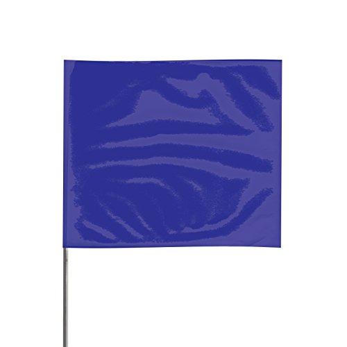 Presco Steel Wire Staff Marking Flags: 4 in. x 5 in. Flag/21
