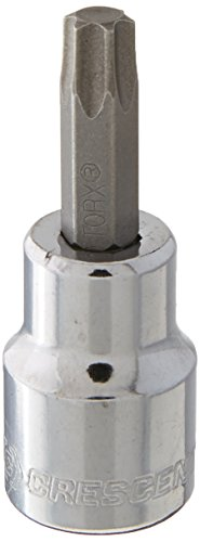 (Crescent CDTS6N TORX SOCKET,T-40 INTERNAL,3/8