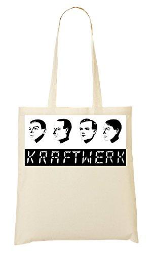 Kraftwerk German Band Bolso De Mano Bolsa De La Compra