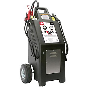 TCB-HT1224 – Heavy Truck 12/24 Volt Commercial Charger/Starter with AGM Batteries
