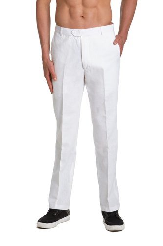 Men's Dress Pants - White