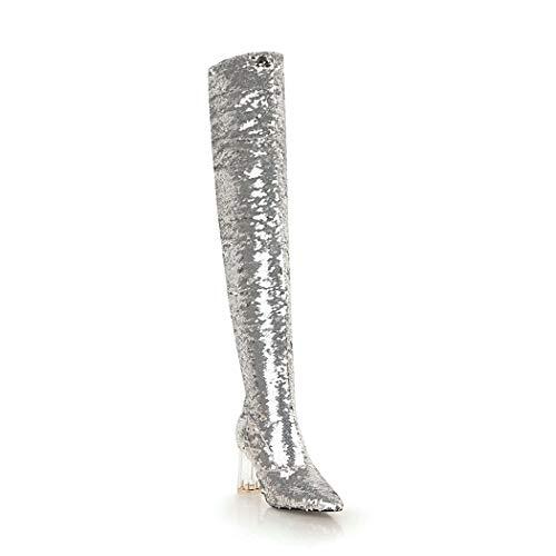 Silver SA105 wetkiss Donna wetkiss Donna SA105 wetkiss Silver Stivali Stivali SA105 p1q7xggvtn