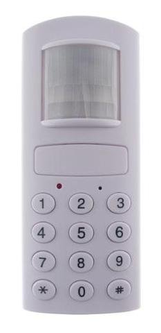 UniquExceptional UMA80 Motion Activated Alarm with Auto Dialer for Standard Phone Lines (White)