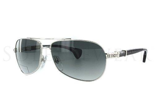 2494179a3ef0 Amazon.com  Chrome Hearts BABY BEAST 59 Black Grad Sunglasses  Clothing