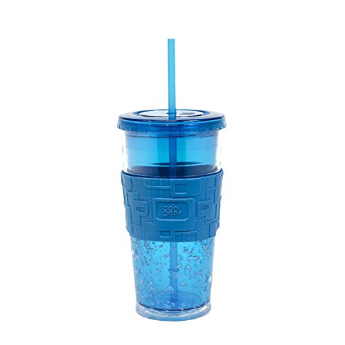 Cool Gear 24oz Gel Chiller with Freezer Gel and Grip Band ()
