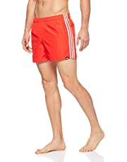 Adidas Men's 3-Stripes Swim Short