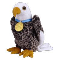 Image Unavailable. Image not available for. Color  TY Beanie Baby - VALOR  the Eagle ... d248cd6a0238