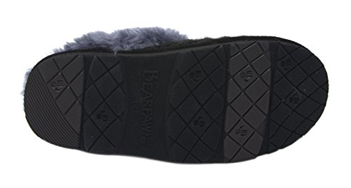 Effie Grey BEARPAW Women's Flat Black Slipper PnwC7C5pxq