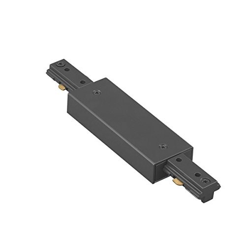 (WAC Lighting HI-PWR-BK H Track Power Feedable I Connector, Black)